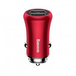 Baseus Gentleman 2x USB 4.8A 24W automobilinis...