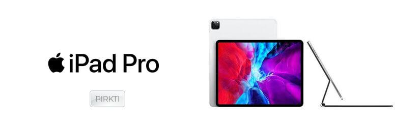 """Apple iPad Pro 12.9"""" planšetinis kompiuteris"""
