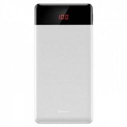 Baseus Mini Cu 10000mAh išorinė baterija, balta