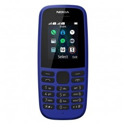 Nokia 105 4th Edition Blue TA-1203 SS mobilusis...