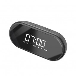 Baseus Encok E09 Wireless Bluetooth Speaker - clock,...