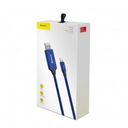 Baseus Lightning Artistic 2A 5m kabelis, mėlynas