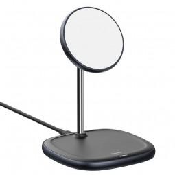 Baseus Swan Magnetic Desktop Bracket Wireless Charger for...