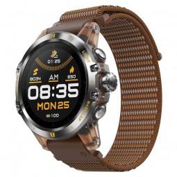 Coros VERTIX GPS Adventure 47mm Watch, Desert Sol, Nylon...