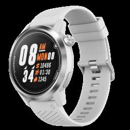 Coros APEX Premium 46mm Multisport Watch, White / Silver,...