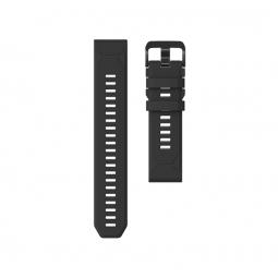 Coros VERTIX Silicone Watch Band, 22mm, Black -...