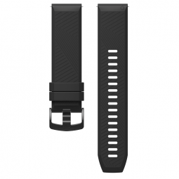Coros APEX 46mm/Pro Silicone Watch Band, 22mm, Black -...