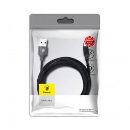 Baseus Type-C Yiven 3A 1.2m kabelis, juodas