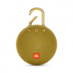 JBL CLIP 3 Yellow Bluetooth belaidė kolonėlė, geltona