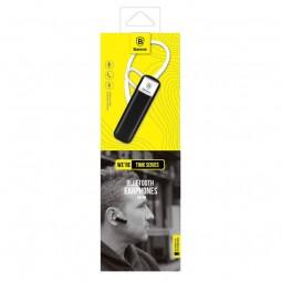 Baseus Timk series BT belaidė Bluetooth ausinė, juoda