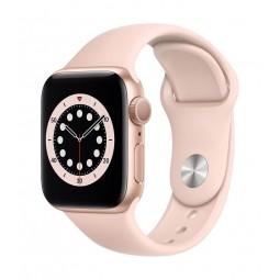Apple Watch Series 6 GPS + Cellular, 40mm Gold Aluminium...