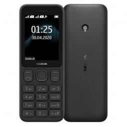 Nokia 125 DS Black TA-1253 - mobilusis telefonas, juodas