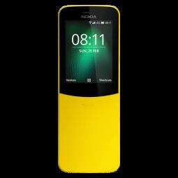NOKIA 8110 4G DS Yellow TA-1048 - mobilusis telefonas,...