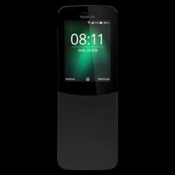 (Ekspozicinis) NOKIA 8110 4G DS Black TA-1048 - mobilusis...