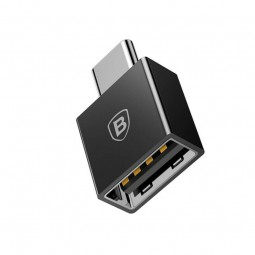 Baseus Exquisite USB-C Male to USB-A 2.4A Female Adapter...
