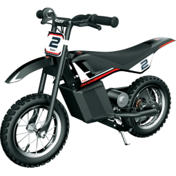Razor Dirt Rocket MX125 Electric Motocross Bike, Black -...