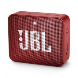 JBL GO 2 Red Bluetooth belaidė kolonėlė, raudona