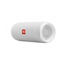 JBL Flip 5 White Bluetooth belaidė kolonėlė, balta