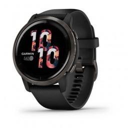 Garmin Venu 2 45mm Black / Slate, Silicone, Wi- Fi, GPS -...
