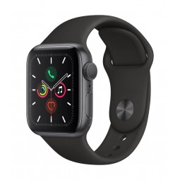 Apple Watch Series 5 GPS, 40mm Space Grey Aluminium Case...