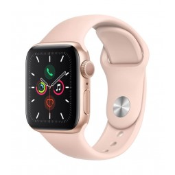 Apple Watch Series 5 GPS, 40mm Gold Aluminium Case with...