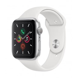 Apple Watch Series 5 GPS, 44mm Silver Aluminium Case with...