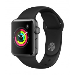 Apple Watch Series 3 GPS, 38mm Space Grey Aluminium Case...