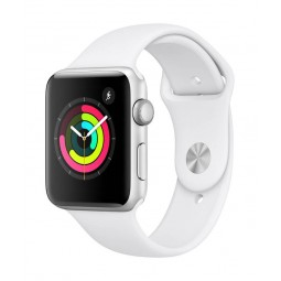 Apple Watch Series 3 GPS, 42mm Silver Aluminium Case with...
