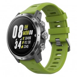 Coros APEX Pro Premium 47mm Multisport GPS Watch, Silver...