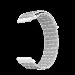 Coros APEX 46mm/Pro Nylon Watch Band, 24mm, White -...