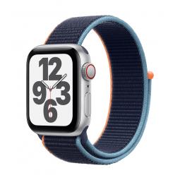Apple Watch SE GPS + Cellular, 40mm Silver Aluminium Case...