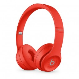 Beats by Dr. Dre Solo 3 Wireless Headphones, Red -...
