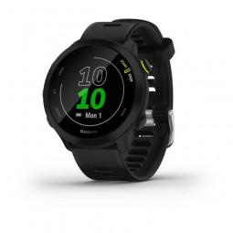 Garmin Forerunner 55 42mm, Black, Silicone, GPS -...