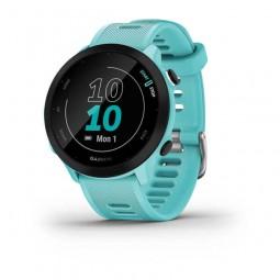 Garmin Forerunner 55 42mm, Aqua, Silicone, GPS -...