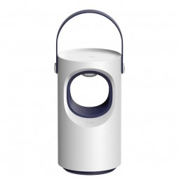 Baseus Purple Vortex USB Mosquito Lamp, White -...