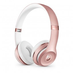 Beats by Dr. Dre Solo 3 Wireless Headphones, Rose Gold -...