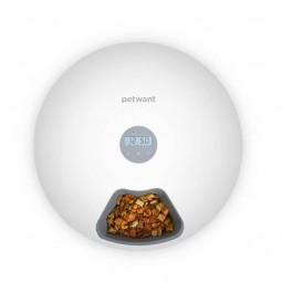 PetWant F6 Intelligent 6-Chamber Food Dispenser -...