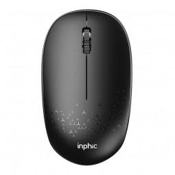 Inphic E5B Bluetooth Mouse, 1600 DPI, Silent, Black -...