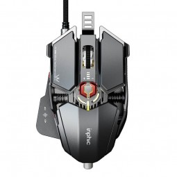 Inphic PG6 Wired Gaming Mouse, 7200 DPI, 9 Keys, Triple...