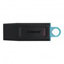 Kingston DataTraveler Exodia 64GB USB 3.2, Black + Teal -...