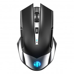 Inphic M606 2.4G Wireless Mouse, 1600 DPI, Silent, Black...