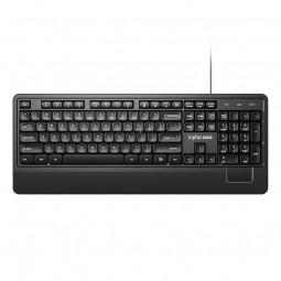 Inphic V590 Wired Keyboard, Ergonomic, Black - laidinė...