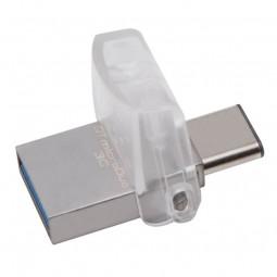Kingston DataTravel MicroDuo 3C 32GB USB 3.2 Type-A +...