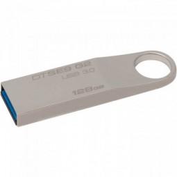 Kingston DataTraveler SE9 G2 128GB USB 3.0, Metal, Silver...