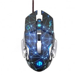 Inphic W20 Wired Gaming Mouse, 4800 DPI, 6 Keys, RGB,...