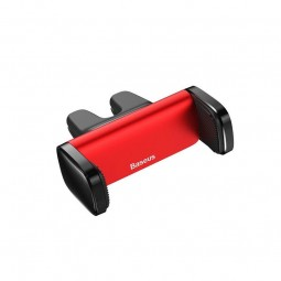 Baseus Steel Cannon Air Outlet Car Mount, Red / Black -...