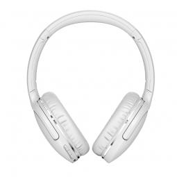 Baseus Encok D02 Pro Wireless Headphone, White - belaidės...