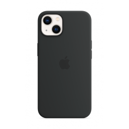 Apple iPhone 13 Silicone Case With MagSafe - Midnight...