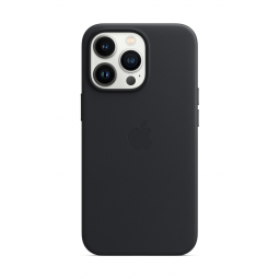 Apple iPhone 13 Pro Leather Case with MagSafe - Midnight...