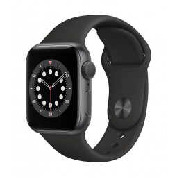 Apple Watch Series 6 GPS, 40mm Space Gray Aluminium Case...